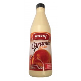 SIROPE CARAMELO MERRY BOTELLA 1.2KG