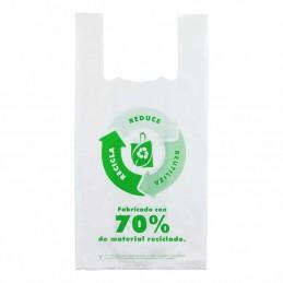 BOLSA ASA 30 x 40 PQ: 100 UND reutilizable reciclada