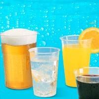 Vasos, platos y cubiertos PP, plástico y FOAM