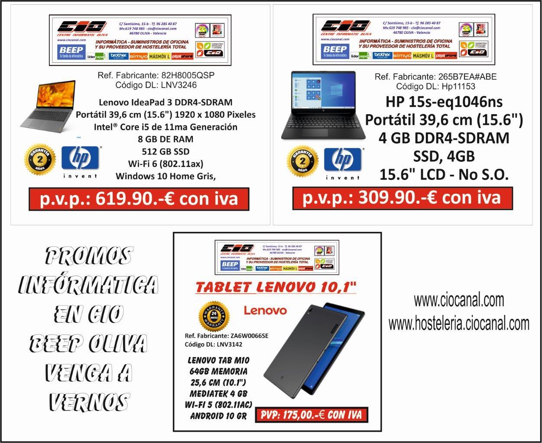 Promociones informática