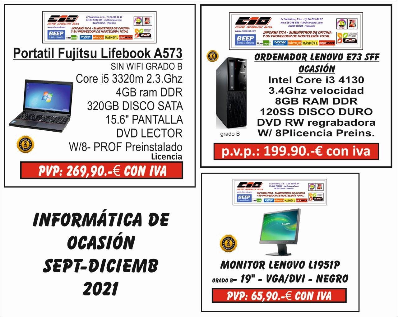 Promociones en informática
