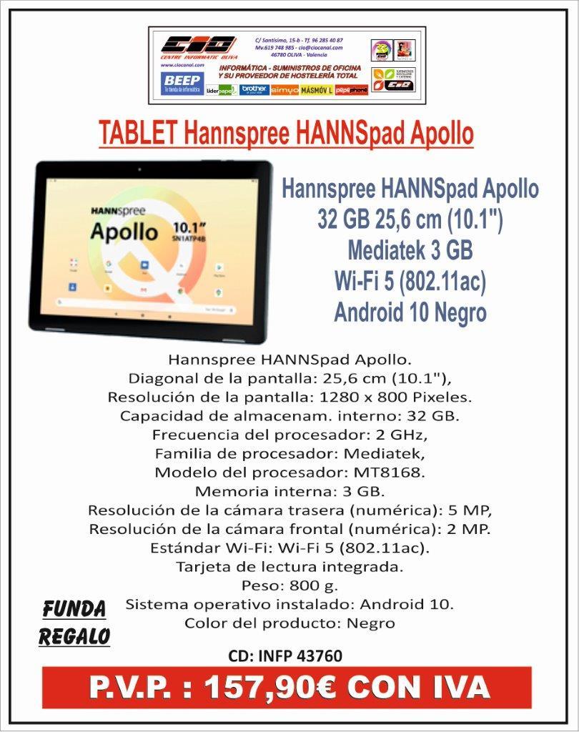 PROMOS INFORMATICA TABLET APOLLO