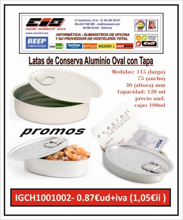 promo lata aluminio presentacion